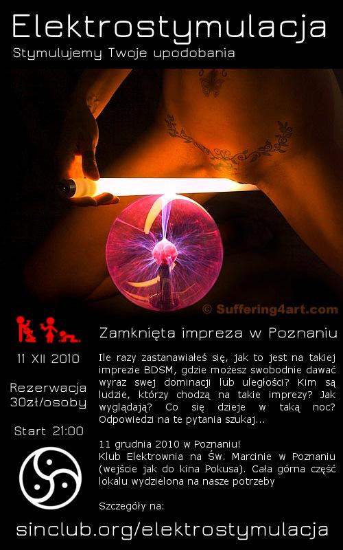 Elektrostymulacja plakat
