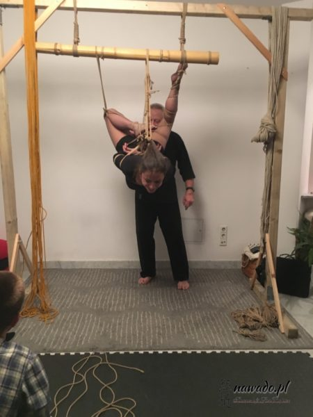 Shibari performance, kinbaku performance, bondage, workshop shibari