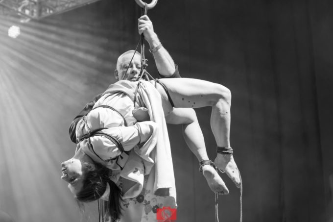 26.03.2017r. Poznań Tattoo Konwent – shibari performance