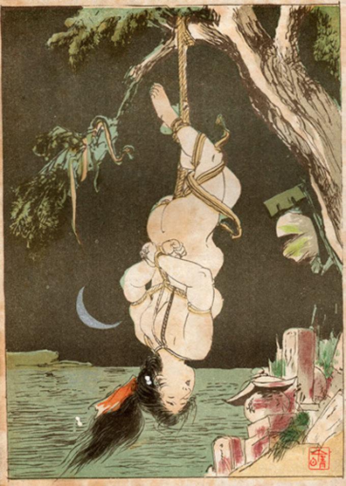 Historia japońskiego shibari
