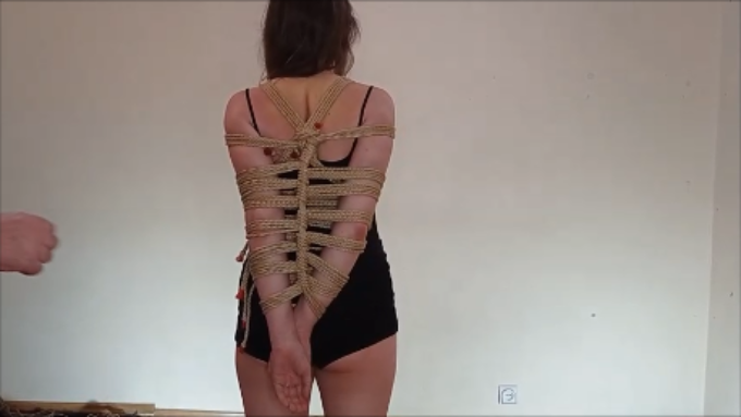 Strappado poczwórną liną